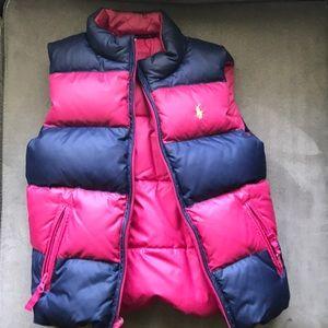 Girls Ralph Lauren puffer vest